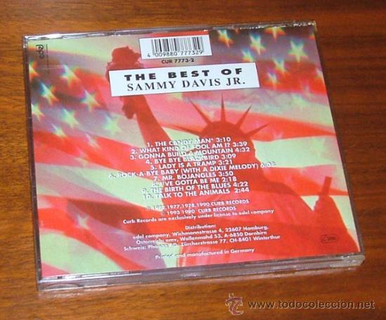 CDs de Música: CD THE BEST OF SAMMY DAVIS JR. AMERICAN SUPERSTARS (Sammy Davis Jr.) - Foto 2 - 32097959