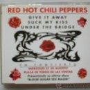 CDs de Música: RED HOT CHILI PEPPERS. EN CONCIERTO, SINGLE CD PROMOCIONAL EDIT. SPAIN 3 TEMAS, MUY RARO SEMINUEVO,. Lote 32103997