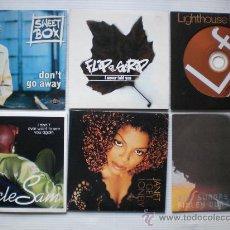 CDs de Música: LOTE 6 SINGLES CDS. VARIOS ARTISTAS MUSICA SOUL BLUES AÑOS 90. NUEVOS. OFERTA-LIQUIDACION. Lote 32106223