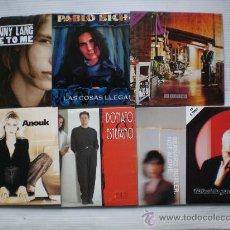 CDs de Música: LOTE 7 SINGLES CDS. VARIOS ARTISTAS MELODICOS AÑOS 90. NUEVOS. OFERTA-LIQUIDACION. Lote 36713126