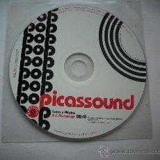 CDs de Música: PICASSOUND POP / CD SINGLE EN FUNDA DE PLASTICO PEPETO. Lote 32119477