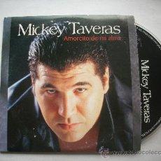 CDs de Música: MICKEY TAVARES /AMORCITO DE MI ALMA / CD SINGLE 2001 PEPETO. Lote 32128516