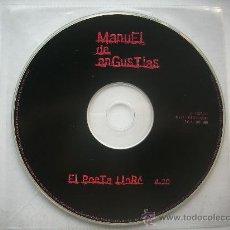 CDs de Música: MANUEL DE ANGUSTIAS/ EL POETA LLORO / CD SINGLE /PEPETO RECORDS. Lote 32129380