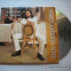 CDs de Música: CD SINGLE 'SE QUE ME VA A DEJAR' DE MARCO ANTONIO SOLÍS PEPETO. Lote 32143494