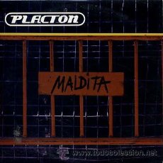 CDs de Música: PLACTON / MALDITA (CD SINGLE CARTÓN 2001). Lote 32145067