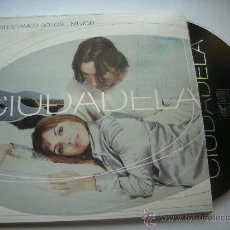 CDs de Música: CIUDADELA SI ESTAMOS SOLOS MEJOR / CD PROMO PEPETO. Lote 32169610
