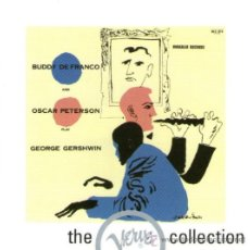 CDs de Música: BUDDY DE FRANCO & OSCAR PETERSON - PLAY GEORGE GERSHWIN - JAZZ THE VERVE COLLECTION - CD 12 TRACKS. Lote 32170075