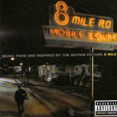 CDs de Música: EMINEM - 8 MILE - CD ALBUM - 16 TRACKS - UNIVERSAL ESTUDIO 2002. Lote 32188334
