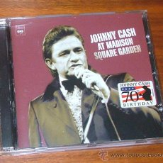 CDs de Música: CD 'JOHNNY CASH AT THE MADISON SQUARE GARDEN' (JOHNNY CASH). Lote 32213460