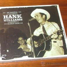CDs de Música: 2 CD 'THE ESSENTIAL HANK WILLIAMS. HILLBILLY LEGEND' (HANK WILLIAMS). Lote 32223717