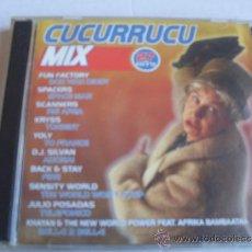 CDs de Música: CUCURRUCU MIX ( 2 CD). Lote 32187280