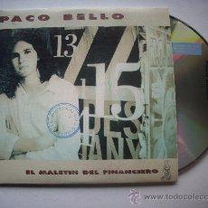 CDs de Música: PACO BELLO/ EL MALETIN DEL FINANCIERO / CD SINGLE /PEPETO RECORDS. Lote 32201217