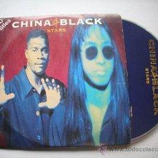 CDs de Música: CHINA BLACK / STARS (2 VERSIONES) (CD SINGLE 1995) PEPETO. Lote 32201741