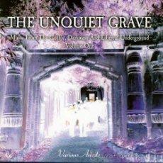 CDs de Música: THE UNQUIET GRAVE VOL ONE * 2 CD * DARK WAWE* EBM * INDUSTRIAL * GOTHIC * PRECINTADO!!. Lote 32199725