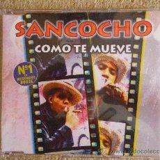 CDs de Música: SANCOCHO COMO TE MUEVE REMIX CD SINGLE PROMOCIONAL DE PLASTICO AÑO 1997 2 TEMAS. Lote 32202077
