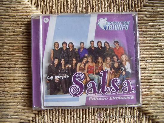 OPERACIÓN TRIUNFO LA MEJOR SALSA (Música - CD's Latina)