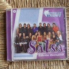 CDs de Música: OPERACIÓN TRIUNFO LA MEJOR SALSA. Lote 32260682