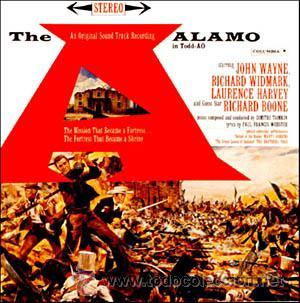 THE ALAMO / DIMITRI TIOMKIN CD BSO (Música - CD's Bandas Sonoras)