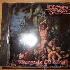 CDs de Música: CD SACRED STEEL - WARGODS OF METAL - METAL BLADE 1999 - HEAVY POWER METAL. Lote 32284101
