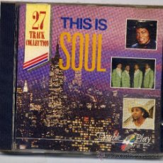 CDs de Música: THIS IS SOUL. Lote 32298456