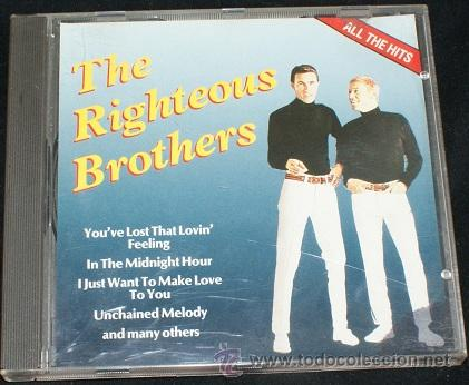 RIGHTEOUS BROTHERS (Música - CD's Melódica )