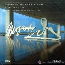 CDs de Música: IÑI LIBRO CD. MÚSICA CLÁSICA. MOZART.CONCIERTOS PARA PIANO.MAURIZIO POLLINI.CLASSICAL MUSIC. DELTA.. Lote 43245326