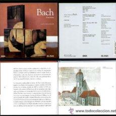 CDs de Música: IÑI LIBRO CD. MÚSICA CLÁSICA. BACH. CONCIERTOS. CAFE ZIMMERMANN. CLASSICAL MUSIC. LOTE DELTA.. Lote 32354074