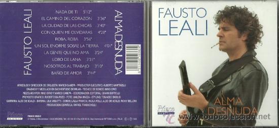 FAUSTO LEALI CD SELLO PRINCE AÑO 1995 EDITADO EN ESPAÑA. (Música - CD's World Music)