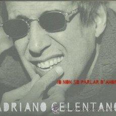 CDs de Música: ADRIANO CELENTANO CD SELLO CLAN AÑO 1999 EDITADO EN ITALIA.. Lote 32356831