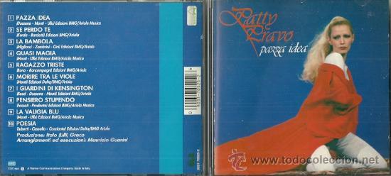 PATTY PRABO CD SELLO WARNER EDITADO EN ITALIA. (Música - CD's World Music)