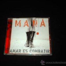 CDs de Música: MANA-AMAR ES COMBATIR. Lote 32373336