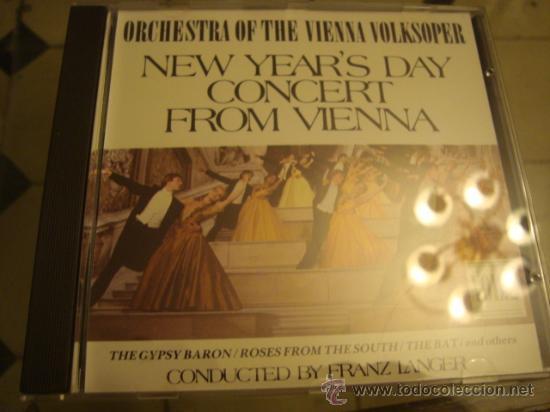 ORCHESTRA OF HHEE VIENNA VOLKSOPER, NEW YEAR´S DAY CONCERT FROM VIENNA 2 (Música - CD's Clásica, Ópera, Zarzuela y Marchas)
