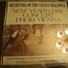 CDs de Música: ORCHESTRA OF HHEE VIENNA VOLKSOPER, NEW YEAR´S DAY CONCERT FROM VIENNA 2. Lote 32375759
