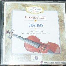 CDs de Música: EL ROMANTICISMO BRAHMS. Lote 32376835