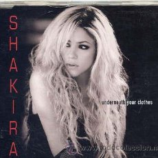 CDs de Música: SHAKIRA / UNDERNEATH YOUR CLOTHES (CD SINGLE PROMO 2002). Lote 32399651