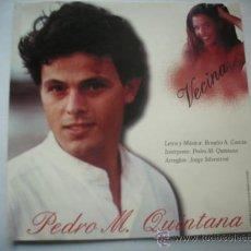 CDs de Música: PEDRO M. QUINTANA/ VECINA/ CD SINGLE PROMO GRABADO CD VIRGEN PEPETO. Lote 32410986