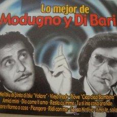 CDs de Música: MODUGNO Y DI BARI LO MEJOR 2 CDS EU.MAGNIFICA MUSICA ITALIANA .... Lote 32431853