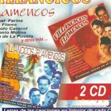 CDs de Música: DOBLE CD VILLANCICOS FLAMENCOS : RAFAEL FARINA, ANTONIO MOLINA, ENRIQUE MONTOYA, PEPE EL CULATA, ETC. Lote 32443959