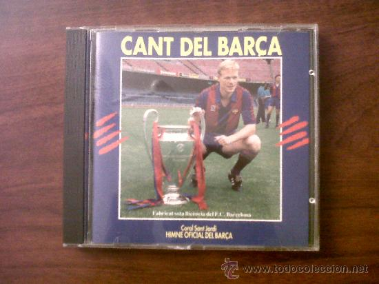 CD CANT DEL BARÇA-CORAL SANT JORDI-HIMNE OFICIAL DEL BARÇA-1992-EL CANT DE LA SENYERA-ORFÉO CATALÀ (Música - CD's Otros Estilos)
