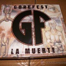CDs de Música: CD+DVD GOREFEST - LA MUERTE - NUCLEAR BLAST - PRECINTADO - 2005 - DEATH METAL. Lote 64481017
