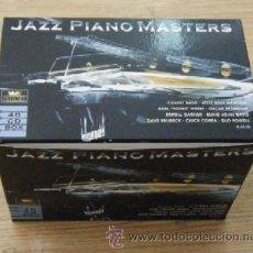 CDs de Música: JAZZ PIANO MASTERS 40 CD BOX CD-JAZZ-180. Lote 32477526