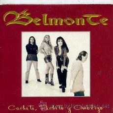 CDs de Música: BELMONTE / CACHETE, PECHITO Y OMBLIGO / CHICA BUENA (CD SINGLE CARTÓN 1996). Lote 32508781