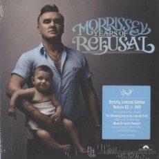 CDs de Música: MORRISSEY * CD + DVD DELUXE EDITION * YEARS OF REFUSAL * LTD DIGPACK * PRECINTADO. Lote 32509497