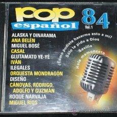 CDs de Música: LO MEJOR DEL POP ESPAÑOL. Lote 32514623