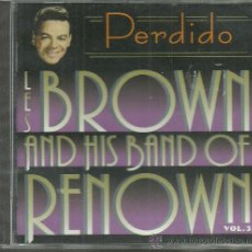 CDs de Música: LES BROWN AND HIS BAND OF RENOWN VOL.3 CD SELLO BLUE MOON AÑO 1995 EDITADO EN ESPAÑA.. Lote 32572907