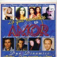 CD di Musica: DUO DINÁMICO / MEDLEY LO QUE NECESITAS ES AMOR (CD SINGLE CARTÓN 1997). Lote 32585109