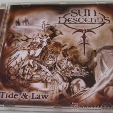 CDs de Música: SUN DESCENDS - TIDE LAW - CD - MARQUEE 2005 - EXUMER LIVE 1985 - KANUN-LAW - COMO NUEVO. Lote 32599061