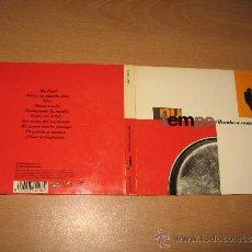 CDs de Música: CD NU TEMPO RUMBO A NUEVAS ISLAS .SONIDO DENSO AÑO 2000 SPAIN / JUANJO JAVIERRE - RARO. Lote 32601251