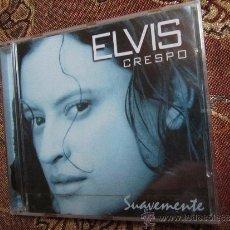 CDs de Música: CD. DE ELVIS CRESPO-TITULO SUAVEMENTE- CON SU PLASTICO- REGALO MAXI-CD. Lote 32630202