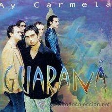 CDs de Música: GUARANA / AY CARMELA / EN LA CASA DE INES / LLUEVE (CD SINGLE 2000). Lote 32634907